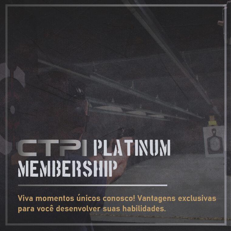 Filiação do plano Platinum Membership no Clube de Tiro Piracicabano Indoor